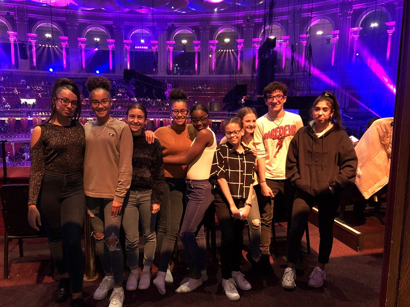One voice at the Albert Hall